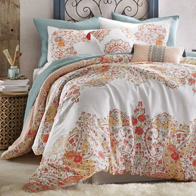 Sabine Comforter Set and Decorative Pillows by Jessica