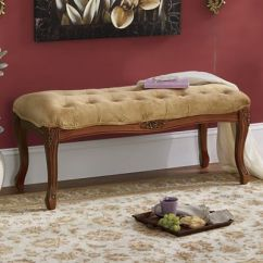 Baker Tufted Dining Chairs Baby Swing Chair Video Carved Bench From Seventh Avenue | D2757190