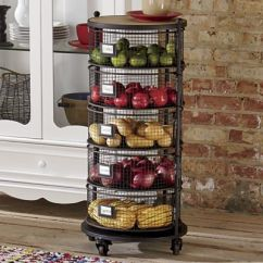 Kitchen Storage Canisters Cost Of Remodeling A Round Floor Organizer From Seventh Avenue | Di757748