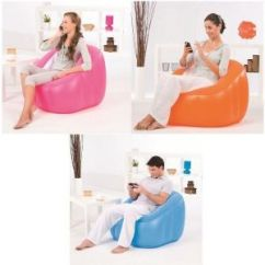 Beanless Sofa Air Chair Beds Costa Del Sol Buy Online At Best Price In India Rediff Shopping Comfort Quest Inflatable Comfi Cube