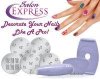 Gadget Hero S Salon Express Nail Polish Art Decoration Sting Design Kit
