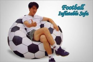 beanless sofa air chair modern blue velvet buy football shape bag inflatable online best