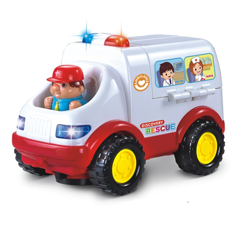 Buy Educational Baby Toy Music Ambulance Bus Online | Best Prices ...