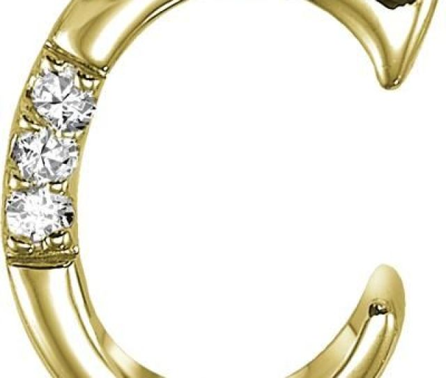 Buy Kiara C Alphabet Design American Diamond Pendant Online