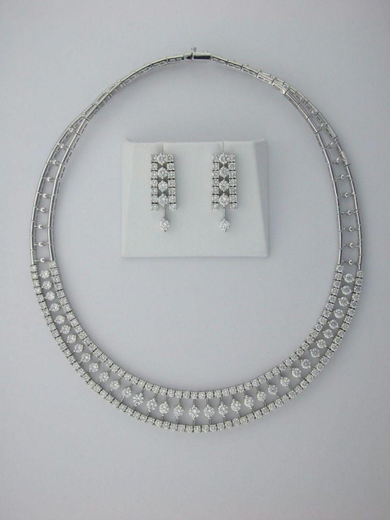 Bridal Jewelry Sets White Gold