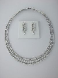 Bridal Jewelry Sets White Gold