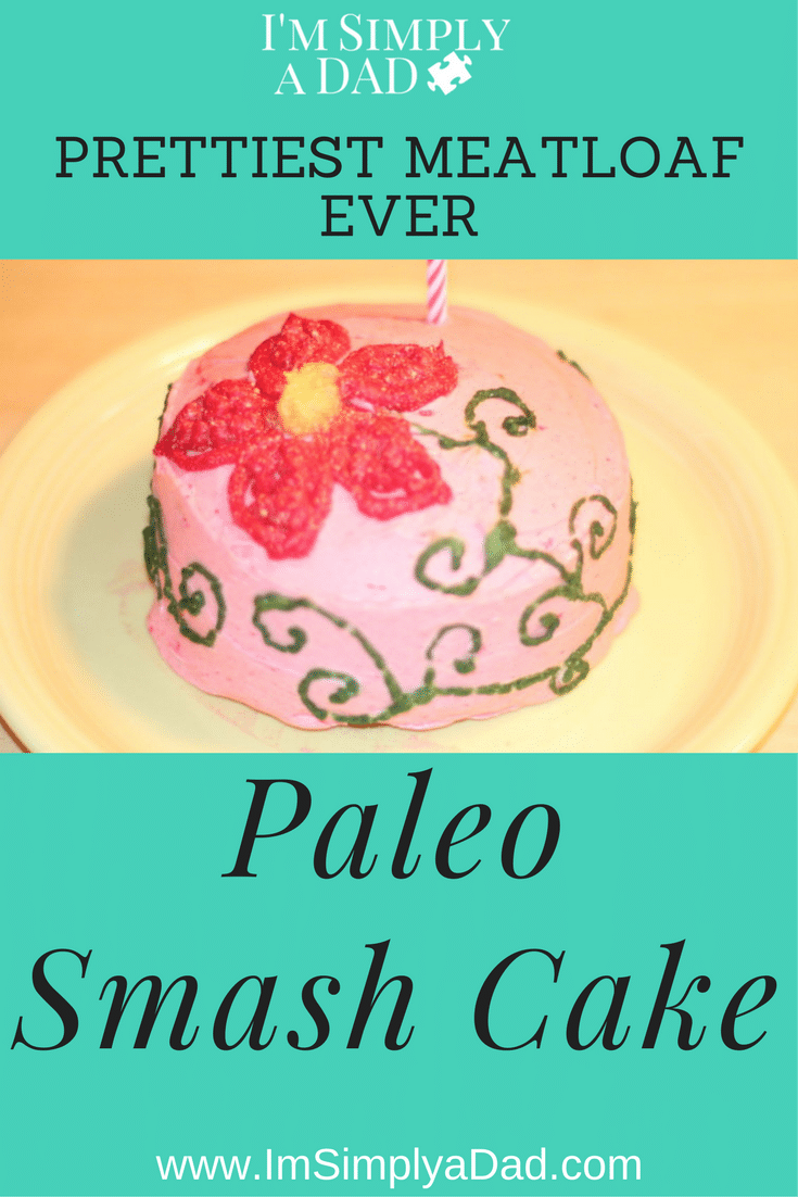 Healthy 1st Birthday Paleo Smash Cake