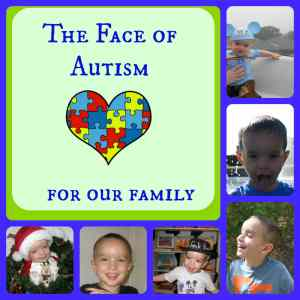 face of autism Collage