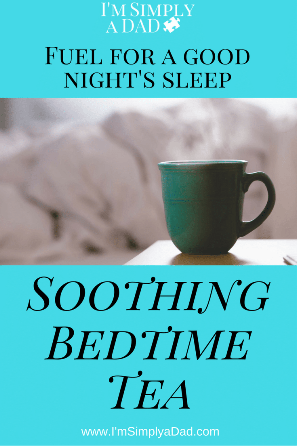 Soothing Bedtime Tea: Fuel for a good night's sleep.