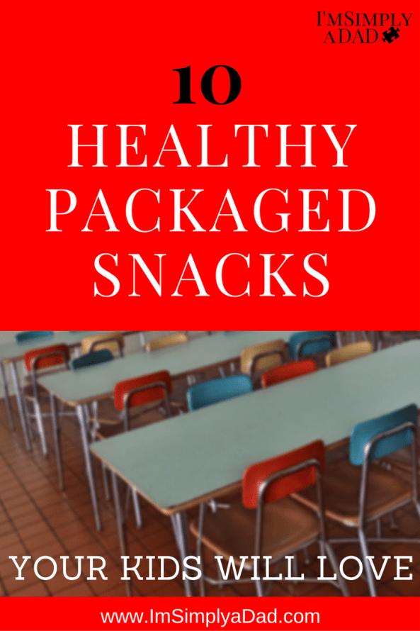 Healthy Packaged Snacks for school lunches or your next class party