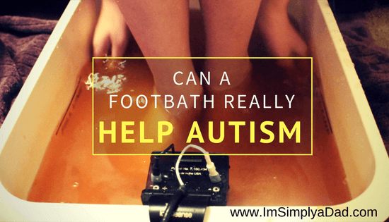 Autism detoxification protocol Ion Cleanse Footbath