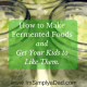 Make Fermented Foods & Get your kids to like them