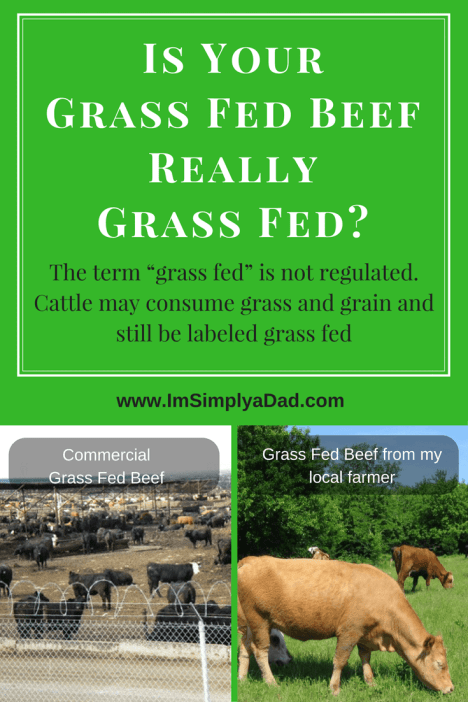 Why Grass fed beef is better and why you should buy locally
