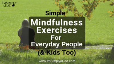 Simple mindfulness exercises for kids, teens & adults to help you (or your kids) become more mindful. You can try these activities by yourself, or with family, students, or groups. Being #mindful can reduce stress, anxiety, and even make your brain smarter. Learn all about what exactly mindfulness is and get easy ideas on how to check in with the present moment. #meditationforkids #mindfulnessforkids #mindfulness #mindfulnessexercises