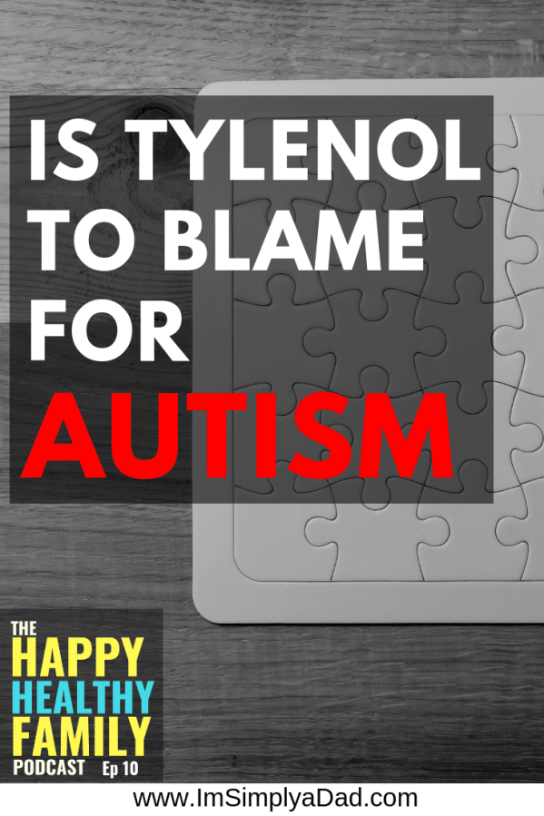 Is Tylenol To Blame For Autism? Compelling research from Duke & Harvard shows this popular OTC medicine comes with great risks. While most docs believe acetaminophen is perfectly safe, children given #Tylenol or #acetaminophen are more likely to develop #autism, asthma, ADHD, lowered IQ, and behavior problems. If you're still giving your kids acetaminophen (Tylenol), I recommend you see this research and hear it from the researcher himself, Dr. William Parker.