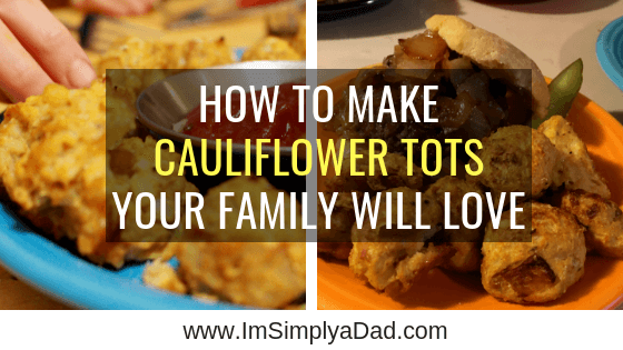 These cauliflower tots are so delicious even your kids will eat them up. This easy recipe is gluten & dairy free, paleo, and low carb (keto). This may be the best healthy vegetable side you've ever made for dinner! #cauliflower #recipe #gfcf