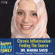 image of Dr Madiha Saeed, text: Chronic Inflammation: Finding the source. The Happy Healthy Family Podcast Episode 34