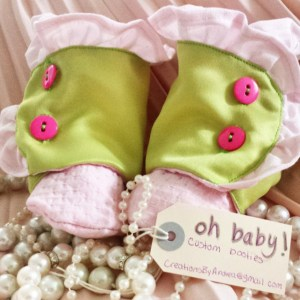 P&G oh baby! Custom Booties
