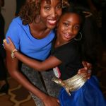 My daughter, Lavender & I at her fashion show!
