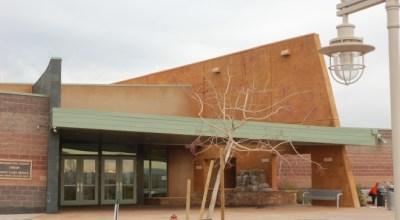 Exterior of Santa Clara Library
