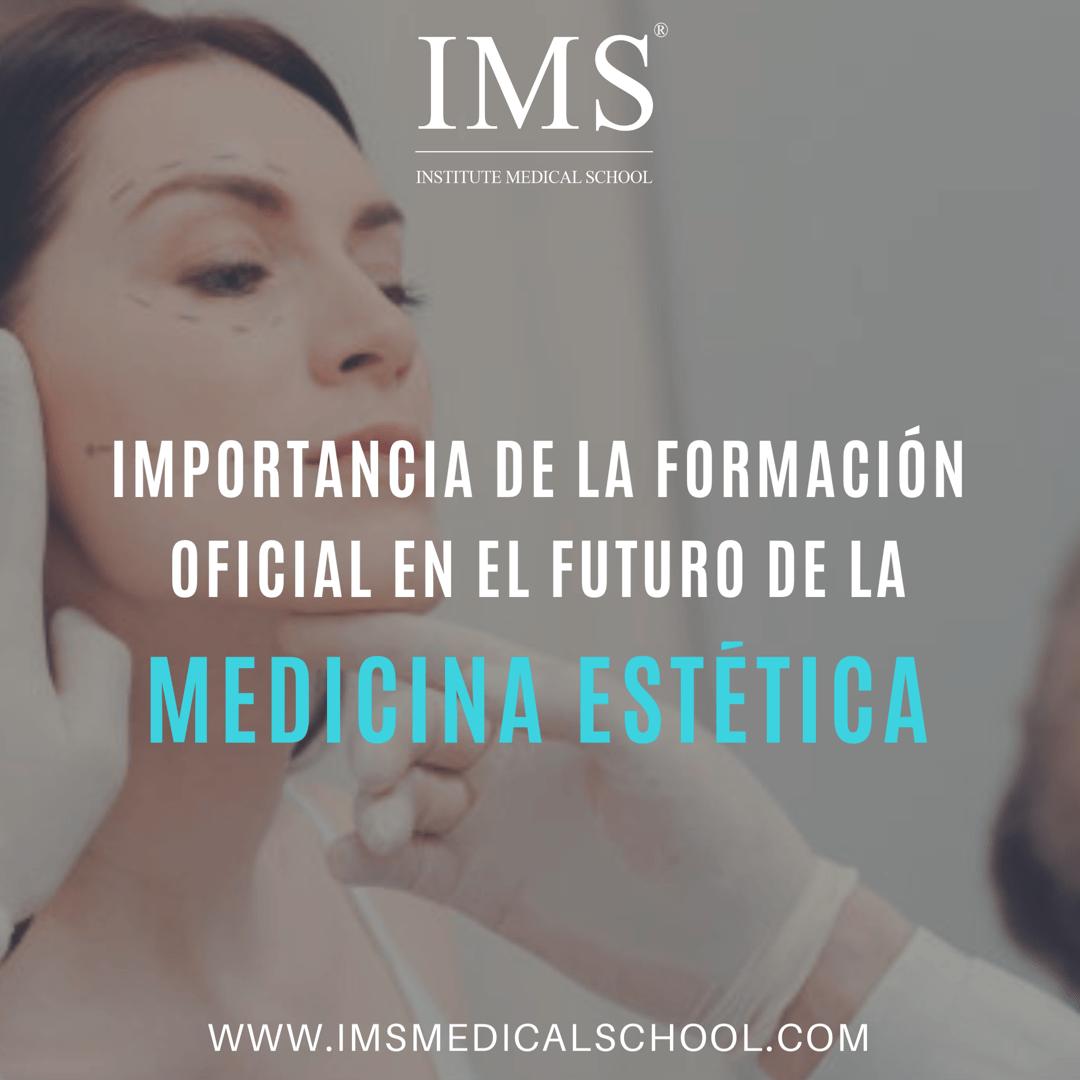 La importancia de la formación oficial en el futuro de la Medicina Estética