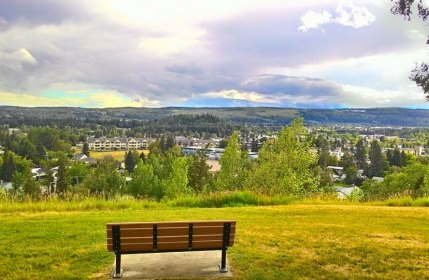 Prince George View from Cannaught Hill