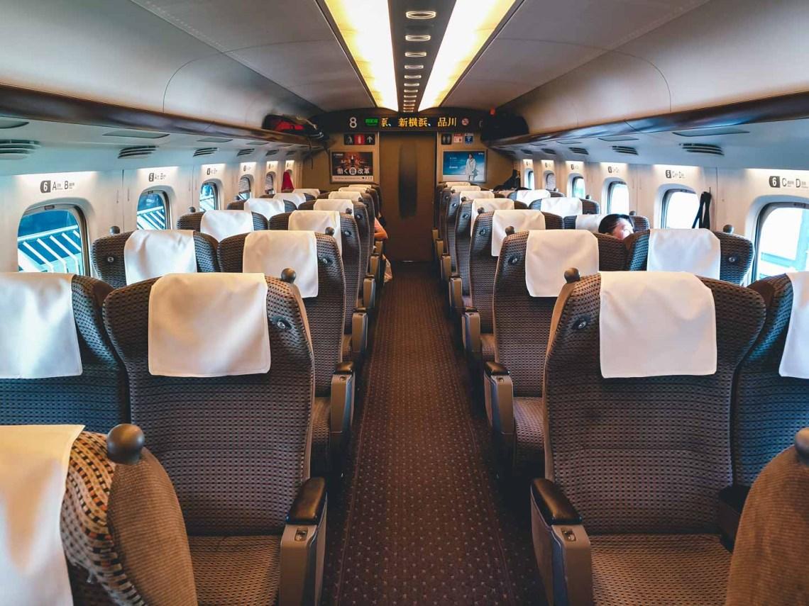 Shinkansen Green Car