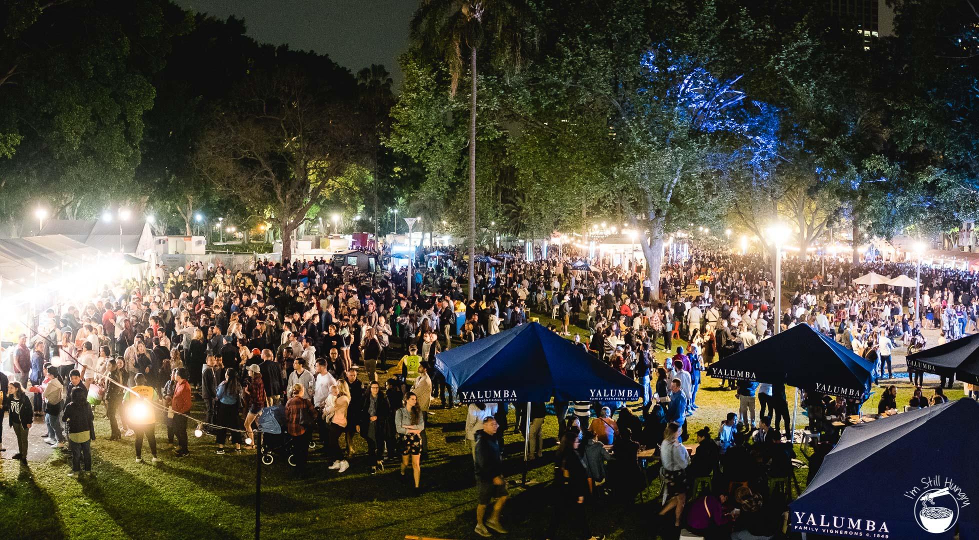 Night Noodle Markets 2016  Sydney Hyde Park
