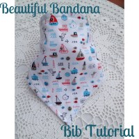Cute Baby Bandana Bib Tutorial!