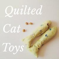 DIY Quilted Catnip Toys