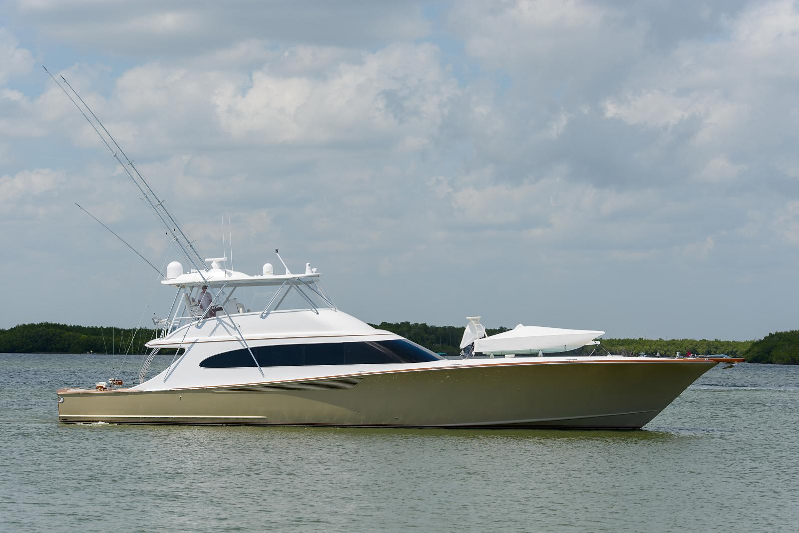 87 Spencer Yachts Custom Carolina 2014 BangArang For Sale