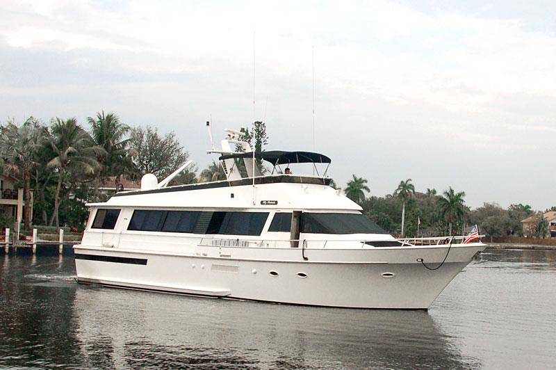 72 Viking Yachts 1991 MY RAKELA For Sale In Fort Lauderdale Florida US Denison Yacht Sales