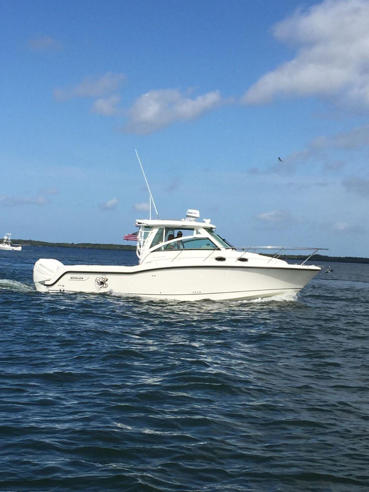 hight resolution of 31 boston whaler starboard profile 1