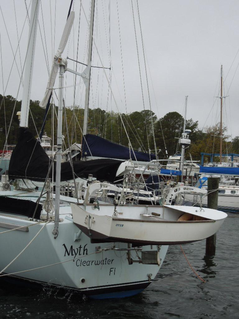 55 Custom Ketch Dashew Style 1994 Myth For Sale In