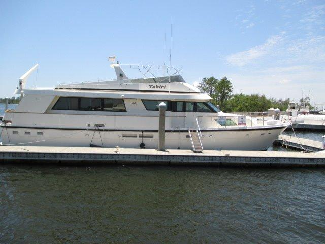 70 Hatteras 1991 Tahiti For Sale In Gulfshores Alabama