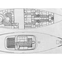 76 jongert interior and deck layout [ 1800 x 1200 Pixel ]