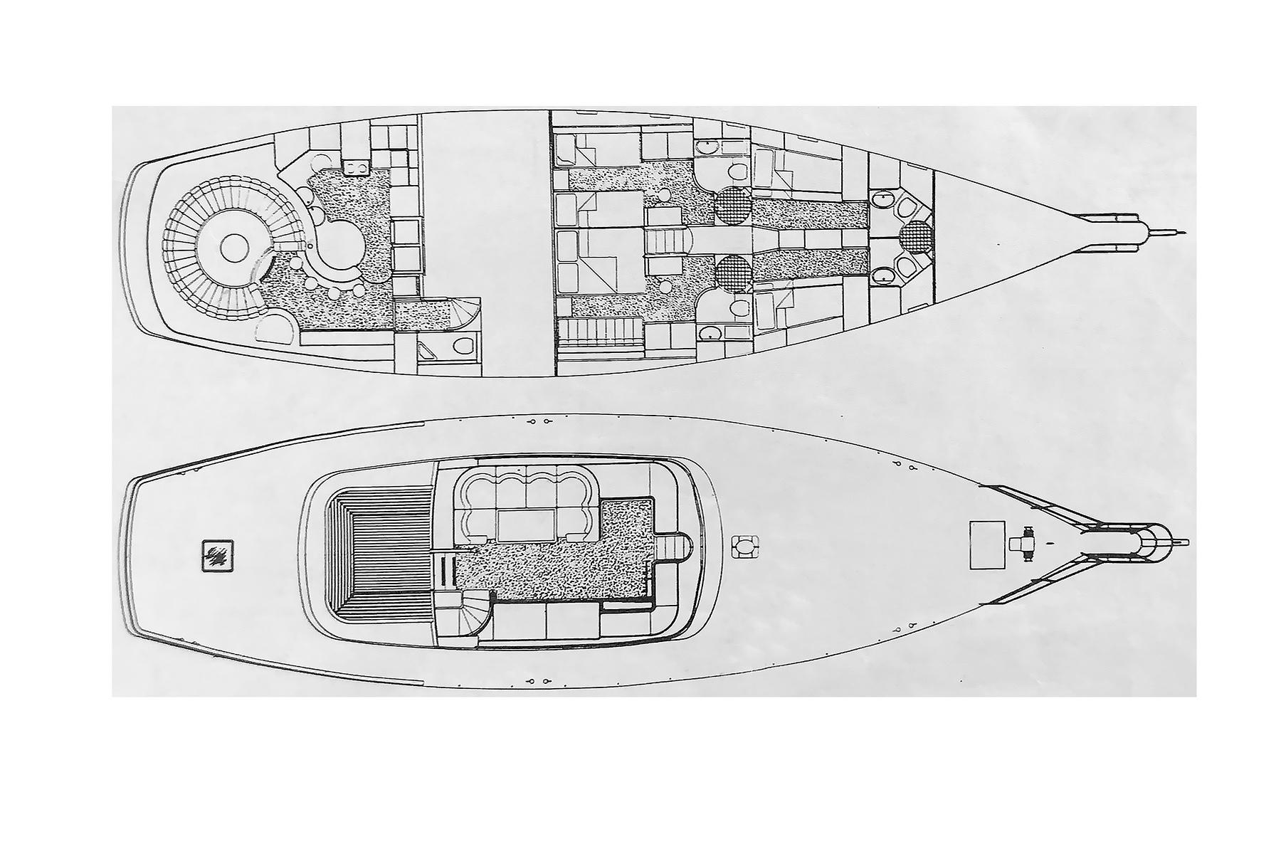 hight resolution of 76 jongert interior and deck layout
