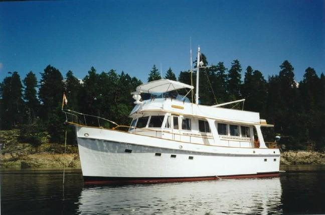 50 Grand Banks 1972 Wooden Shoe For Sale In Port Angeles