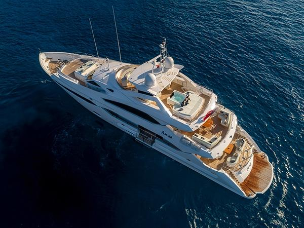 ANYA 40 Metre Yacht Sunseeker London