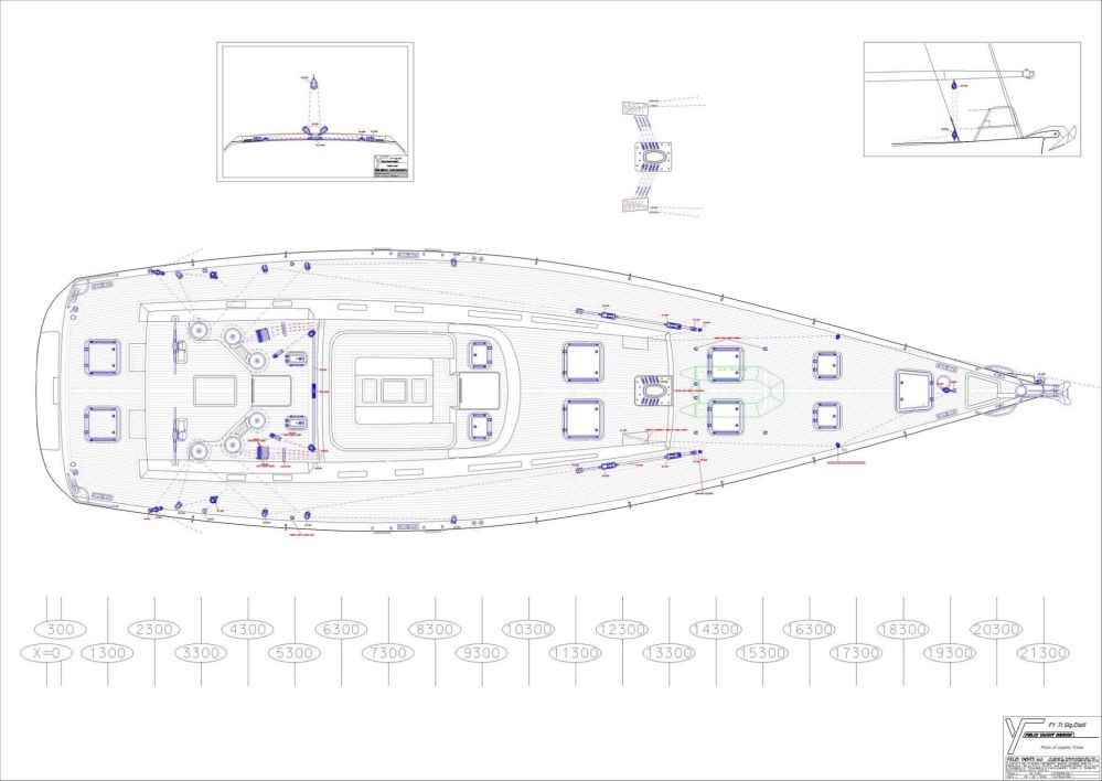medium resolution of 71 felci yacht design fy 71 marador deck plan