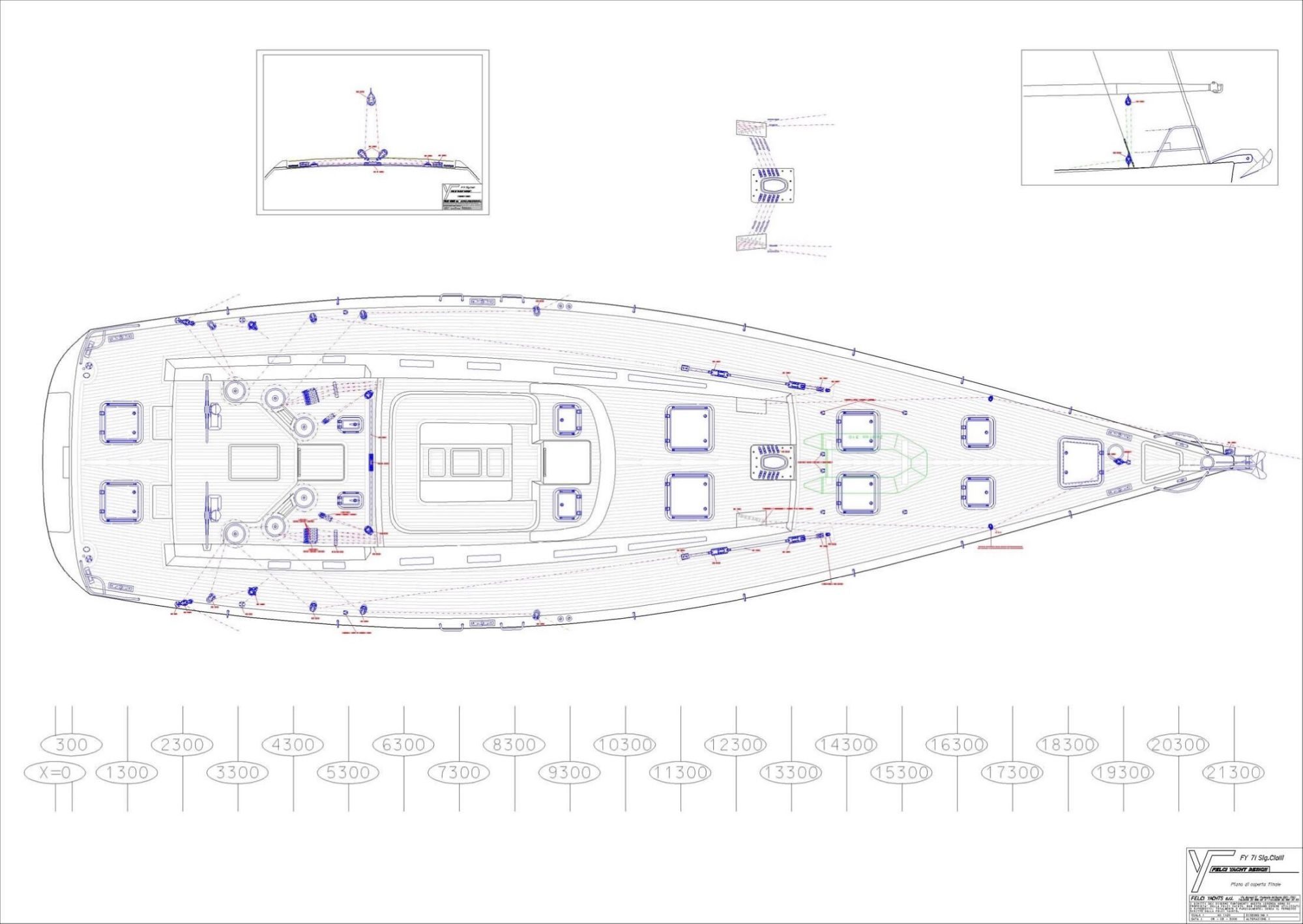 hight resolution of 71 felci yacht design fy 71 marador deck plan