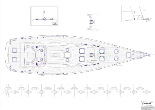 small resolution of 71 felci yacht design fy 71 marador deck plan