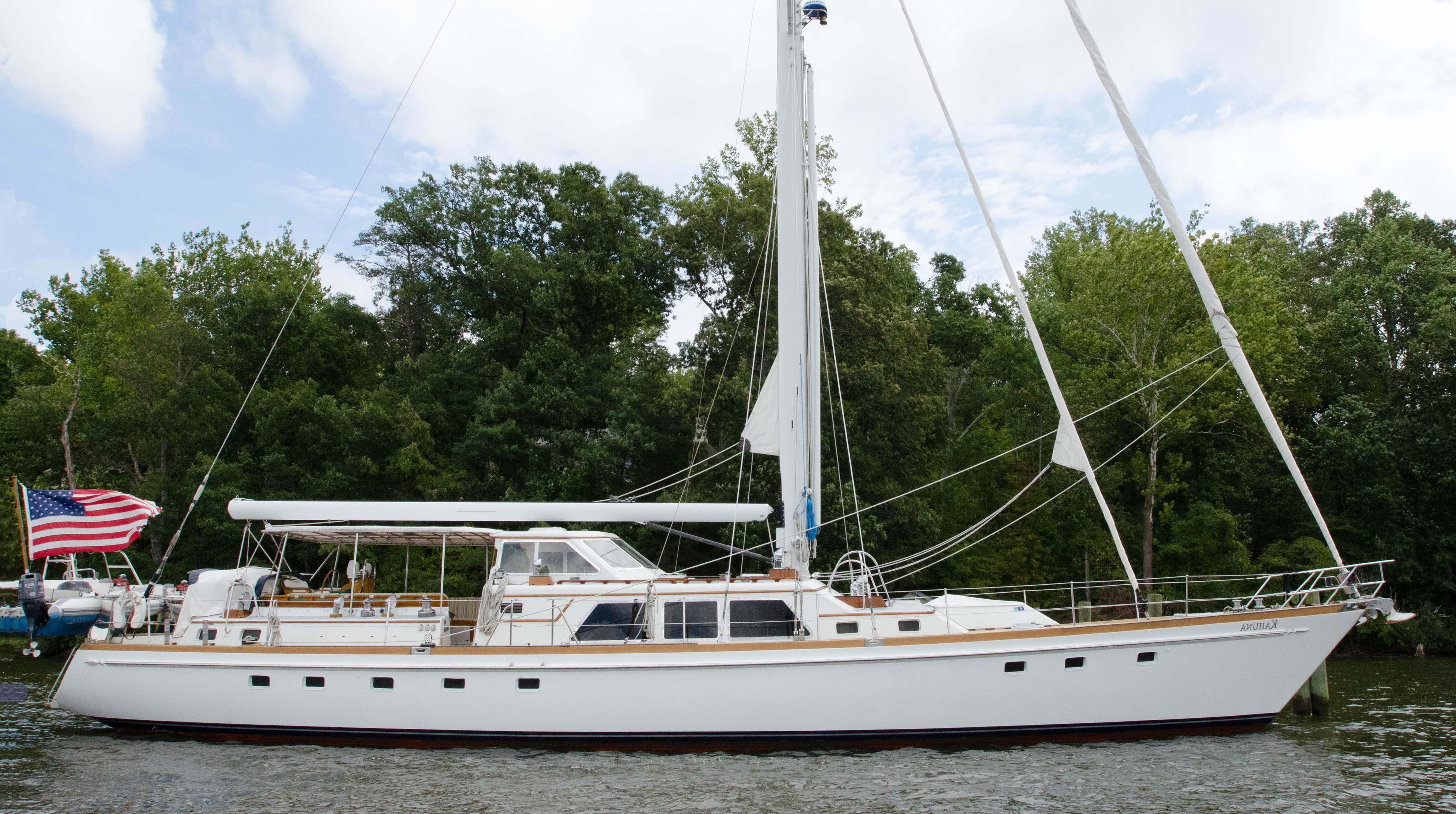 75 Little Harbor 1982 KAHUNA For Sale In Fort Lauderdale