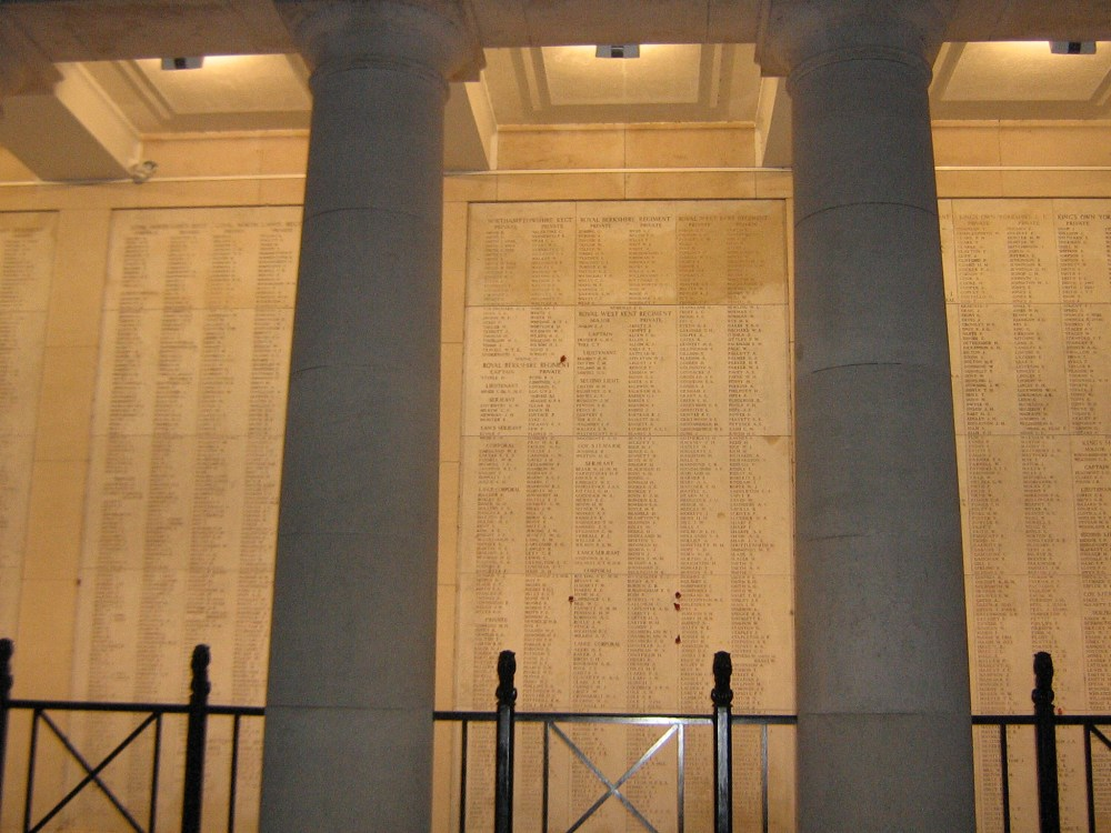 The Menin Gate Memorial (1/6)