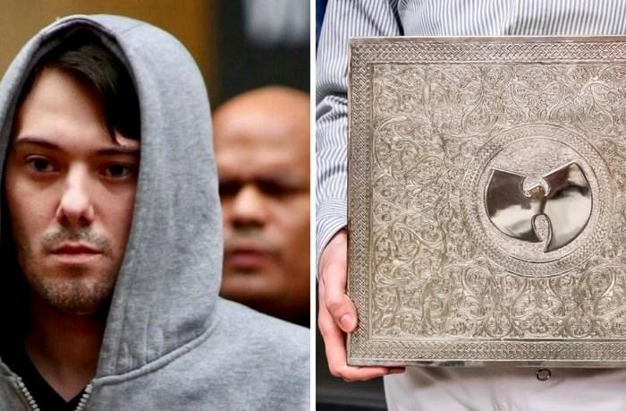Martin Shkreli's $2 Million Wu-Tang Album Sold To Pay Off Debts