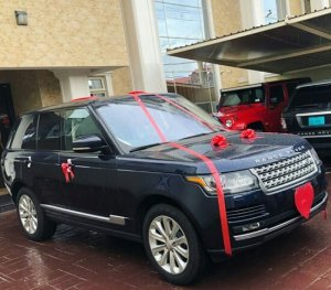 Peter Psquare Surprises His Wife With A Range Rover SUV