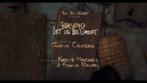 Download Video: Brymo – Let Us Be Great