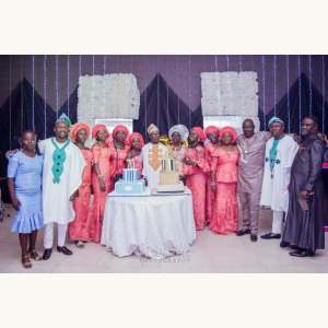 Photos from Comedian Ushbebe's Father's 70th birthday