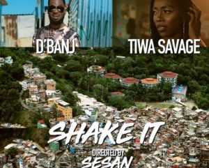 D'banj Shake It ft Tiwa Savage video mp4