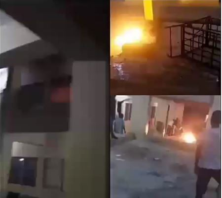 Bowen University students allegedly burn down hostels